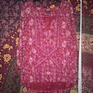 Lucky Brand 🍀 3/4 length sleeve Shirt